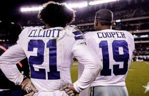 Zeke Elliott y Amari Cooper