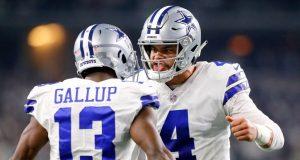 Cowboys vencen los Gigantes 35-17