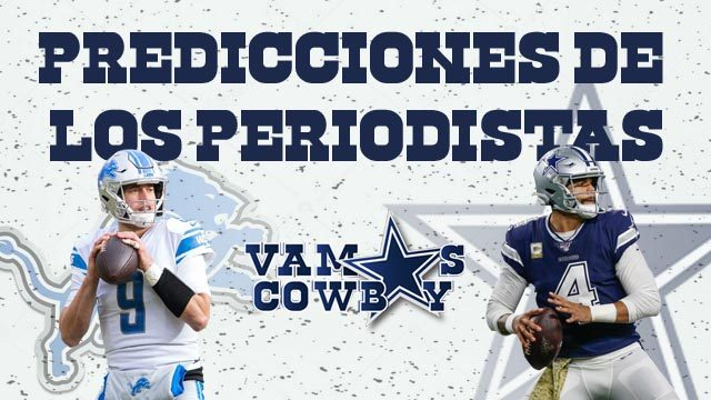 Predicciones Cowboys vs Leones